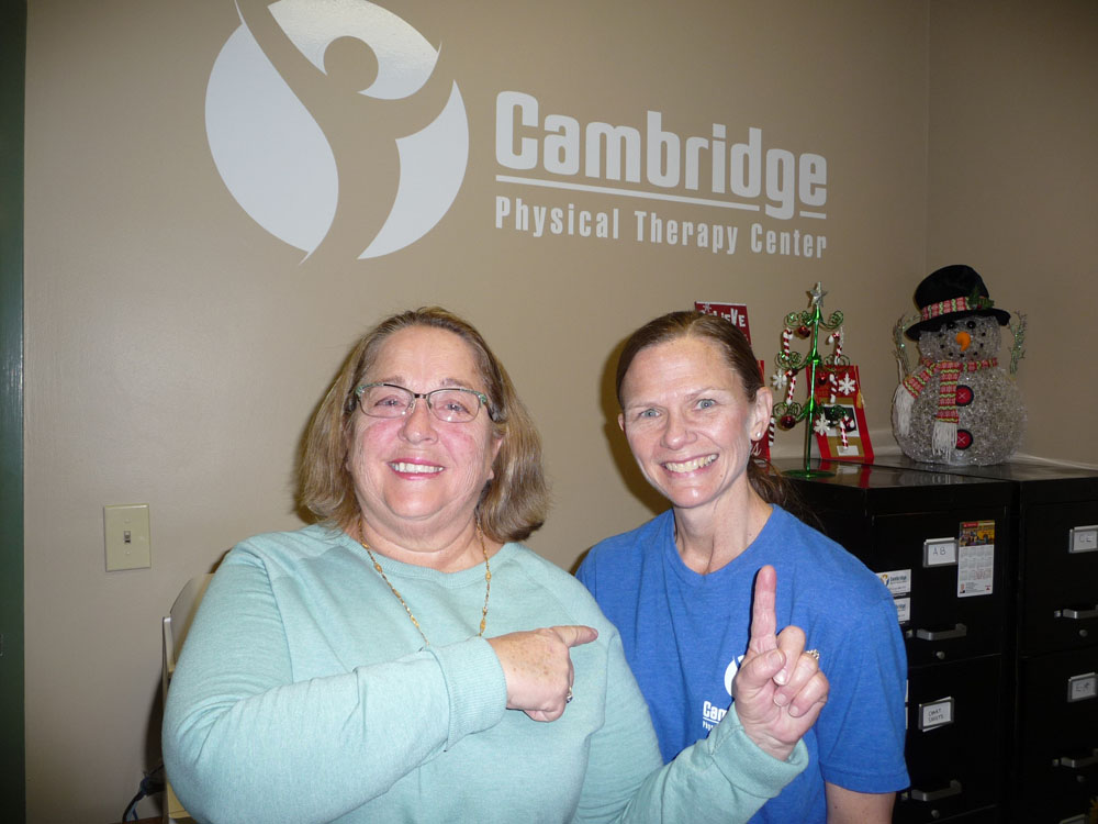 Cambridge Physical Therapy Customer Testimonials 5 15