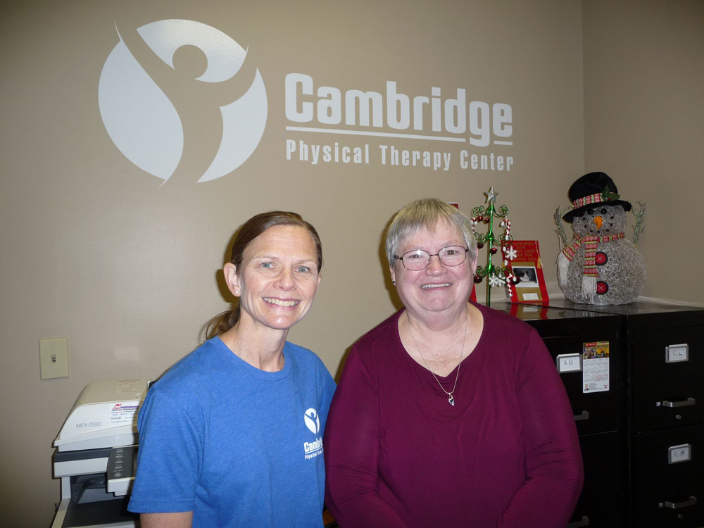 Cambridge Physical Therapy Customer Testimonials 5 16